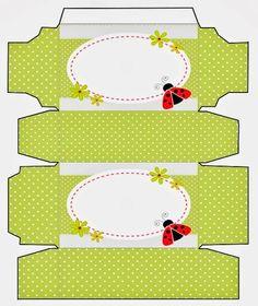 FREE printable ladybug box | Oh My Fiesta! in english