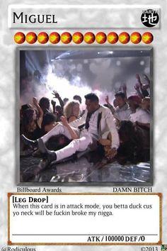 LOL MIGUEL YU-GI-OH CARD