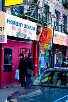 Prosperity Dumpling in Chinatown