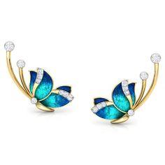 Funky Jewelry, Cute Jewelry, Jewelry Art, Jewelry Design, Fashion Jewelry, Antique Jewellery Designs, Gold Earrings Designs, Ear Cuff Jewelry, Fantasy Jewelry