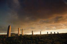 Scottish Islands - Ring of Brodgar, Mainland Orkney Scotland Travel Guide, Scotland Trip, Orkney Islands, England Ireland, Scottish Islands, Scottish Castles, Wanderlust, Stonehenge, British Isles