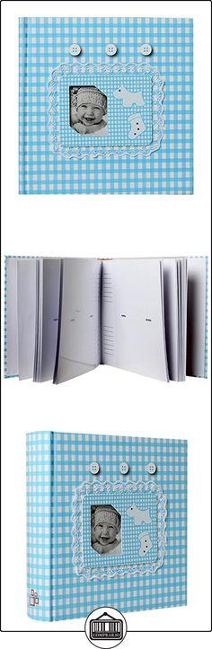LCD - Álbum con fundas para fotos de bebé, 200 fotos, 10 x 15 cm, color azul  ✿ Regalos para recién nacidos - Bebes ✿ ▬► Ver oferta: http://comprar.io/goto/B00XN8YY0I