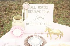 Pink and Mint Cowgirl Birthday Party via Kara's Party Ideas | KarasPartyIdeas.com (18)