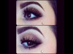 So I can't find any pictures of the doubles, but I want prob two dermals under one or both eyes