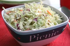 Sure, we can always pick up ready-made coleslaw at the market, but when it's this easy to make, why not do it ourselves? It'll be smooth sailing in the kitchen when you throw together our tasty Captain's Coleslaw.