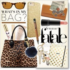 How To Wear What's in my Bag Leopard Outfit Idea 2017 - Fashion Trends Ready To Wear For Plus Size, Curvy Women Over 20, 30, 40, 50