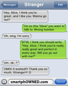 - Other - Aug 2011 - Autocorrect Fails and Funny Text Messages - SmartphOWNED < this is actually really sweet Text Memes, Funny Text Fails, Funny Text Messages, Lol Text, Funny Text Conversations, Cute Texts, Laughing So Hard, Just For Laughs, Funny Posts
