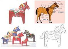 Sandra Eterovic: Working 9 - 5: A Swedish Dala Horse