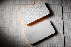 Cool simple business cards