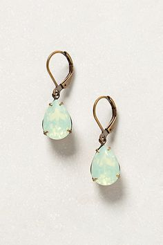 Pretty drop earrings in #mint http://rstyle.me/~1HDXd