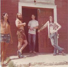 "Doug ""Sir Douglas"" Sahm (far right)."
