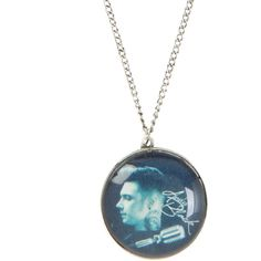 Andy Black Profile Necklace | Hot Topic ($11) ❤ liked on Polyvore featuring jewelry, necklaces, accessories, chain necklace and chains jewelry