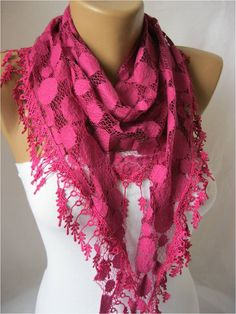 Lace+scarf+women+scarves++guipure+++fashion+scarf++by+MebaDesign,+$15.90