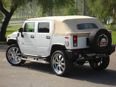 Newport Convertible Engineering - NCE will Design and Engineer your Hummer to a Hummer Convertible! Mighty Hummer Convertible by NCE. Hummer Truck, Hummer H3, Lamborghini Cars, Ferrari, Nerf Snipers, Luxury Suv, Impala, Sport Cars, Convertible