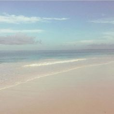 """""""Last day on coral sands"""" Matthew Williamson shares a photo while at the beach."""