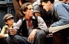 The Newsies.  Young Christian Bale and David Moscow. Great movie!