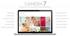 Review Camera 7 - Minimal Photography WordPress Themeyou will get best price offer lowest prices or diccount coupone
