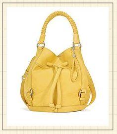 The Sak! Cute Yellow bag!