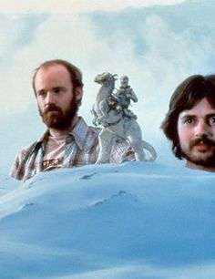 Now thats a cool job!  ESB Hoth behind the scenes.