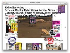 Neil Donnelly: Keller Easterling (My architecture theory hero~) Print Layout, Web Layout, Layout Design, Graphic Design Programs, Ui Design Inspiration, Publication Design, Site Internet, Packaging, Design Development
