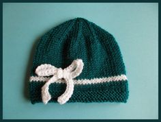 Reno Baby Hat #Knitting Pattern: marianna's lazy daisy days