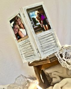 Picture frame photo display image holder: repurposed