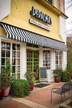 DePalma's Italian Cafe - Tuscaloosa ~ a favorite cafe while Kristina (daughter) was in college at UofA in Tuscaloosa.