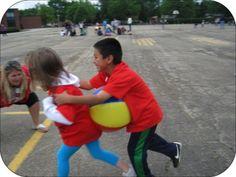 Beach Ball Relay Games | Field Day Game Idea: Beach Ball Relay | Fun Teacher Stuff for the Gee ...
