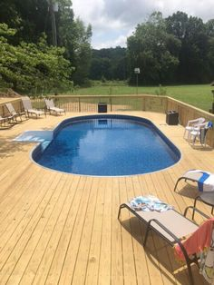 Semi-In Ground Pools, Partial In Ground, Hybrid Pool Nashville, Clarksville Semi Inground Pool Deck, Above Ground Swimming Pools, Swimming Pools Backyard, In Ground Pools, Pool Spa, Diy Pool, Above Ground Pool Landscaping, Backyard Pool Landscaping, Small Backyard Pools