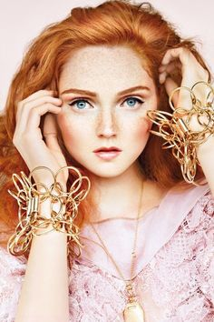 #Redhead / lily cole