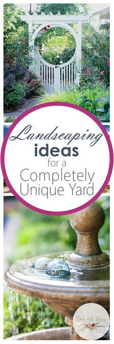 Landscaping Ideas for a Completely Unique Yard