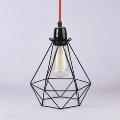 Lámpara filamento, modelo ancho Black