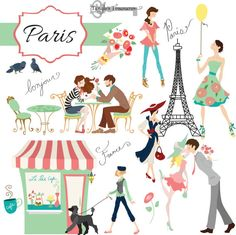 Buy 2 Get One Free Instant Download Paris by TanglesTreasures, $4.50