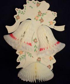 vintage paper wedding bells
