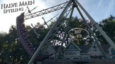 Efteling 2019 Halve Maen 360 VR POV Onride Vr, Ferris Wheel, Fair Grounds, Ship, Travel, Viajes, Ships, Trips, Traveling