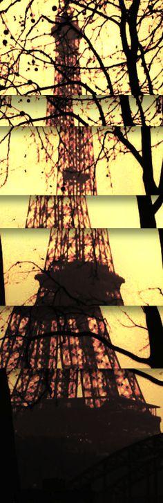Eiffel Tower (cubist montage) Maurice Sapiro Photography