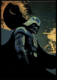 Star Wars Poster Darth Vader by cutejungle on Etsy