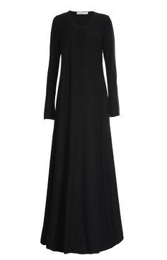 Aab UK Mulberry Black Abaya : Standard view