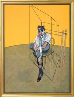 Francis Bacon- Also seems a good variation of triptych, in size, color and -especially- in tonality.