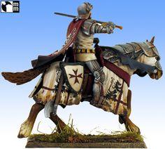 01 - 03 - Teutonic knight on horseback