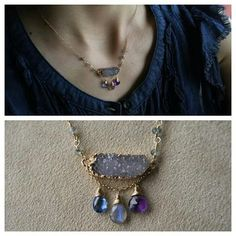 Gemstone necklace by ATELIER Gaby Marcos