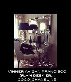 Vi har nå trukket vinneren av San Francisco Glam desk (med eller uten nagler) via randomorg. Vinneren ble @coco_chanel_n5.  @ coco_chanel_n5: Vennligst ta kontakt med oss for overlevering.  Det nydelige bildet er tatt av @monicaseverinsen. Anbefaler å følge hennes profil på IG for inspirasjon og lekre bilder.  Tusen takk til alle dere som har stemt på oss i denne nomineringen.