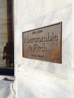 All the fab shopping is in Milan: Abercrombie & Fitch
