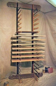 A Quick And Simple Drying Rack For When Painting A Lot Of