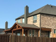 Full Gable Patio Covers Gallery - Highest Quality Waterproof Patio Covers in Dallas, Plano and Surrounding Texas Tx. Backyard Covered Patios, Covered Patio Design, Backyard Patio Designs, Patio Ideas, Sunroom Addition, Backyard Pavilion, Front Porch Design, Outdoor Living Rooms, Patio Roof
