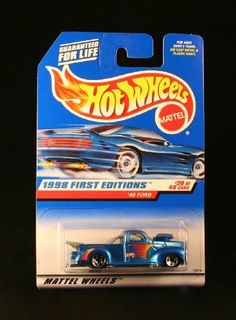 '40 FORD * BLUE w/Thailand Base * 1998 FIRST EDITIONS SERIES #20 of 40 HOT WHEELS Basic Car 1:64 Scale Series * Collector #654 * by Mattel. $6.99. From Mattel. Ages 3+. Originally released in 1998 - Retired / Out of production.. '40 FORD * BLUE w/Thailand Base * 1998 FIRST EDITIONS SERIES #20 of 40 HOT WHEELS Basic Car 1:64 Scale Series * Collector #654 *. Vehicle measures approximately 3 inches long.. '40 FORD * BLUE w/Thailand Base * 1998 FIRST EDITIONS SERIES #20 o...