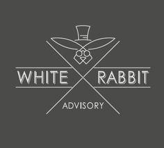 Logo from scratch - White Rabbit Advisory logo design #financial #services #brand