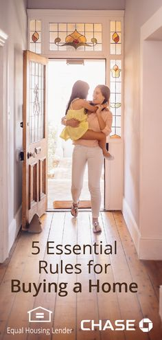 Buying a home is likely one of the biggest financial choices you'll make and there's a lot of planning that goes into the process. To help you stay on track and get ready, here are the 5 essential rules to home buying.