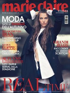 Jessica Miller on Marie Claire Italy Magazine September 2016 Cover Marie Claire, Tapas, Street Chic, Street Style, Jessica Miller, Italy Magazine, The Brunette, Image Cover, Cover Model