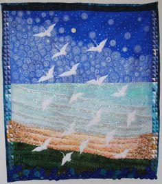 17 Cranes by MelodyMoneyDesigns on Etsy, $1800.00